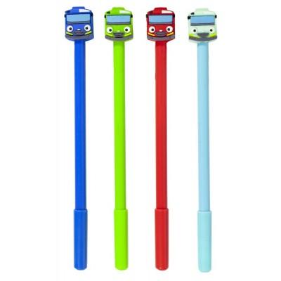 Ручка шар. детская mix синяя, арт.:BP-mix