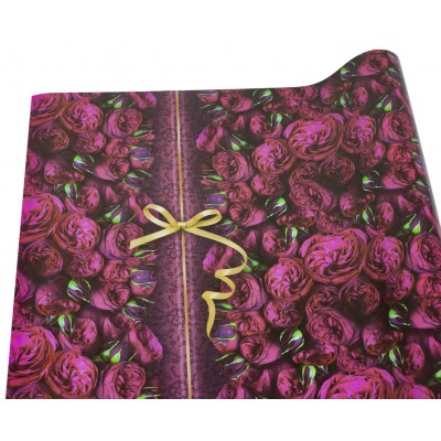 Мелованная бумага - яркие розы, Unison,   PVM10-115 арт.:PVM10-115