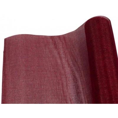 Сетка жаккардовая, для цветов 48см*5ярдов,  бордовый SD-03 арт.:SD-03