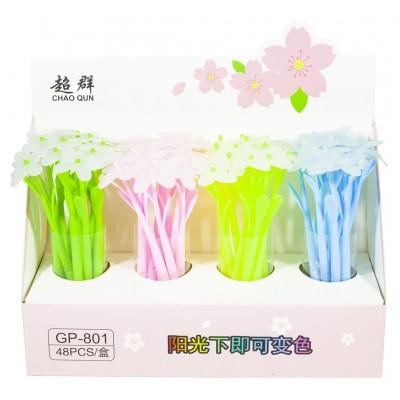 Ручка шар.' Бабочка -меняет цвет при ультрафиолете', 88090 арт.:88090