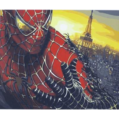 Картина по номерам 'Человек-паук' 40*50см,1068 арт.:1068