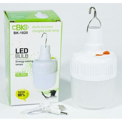 Лампа для кемпинга BK 1820  , 8х13см арт.:7130