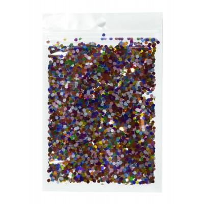 Конфетти шестигранник, ассорти 3мм, 15гр арт.:6405