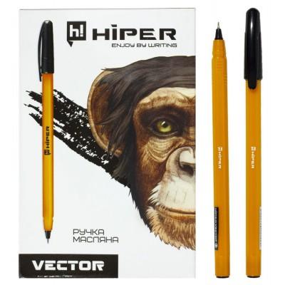 Ручка масляная черная HO-600