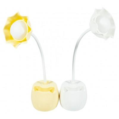 Лампа настольная 'Цветок'_29*9*4см,2цв арт.:QY-A1