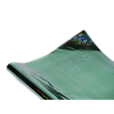 Полисилк голограммный зеленый, Unison, HZ011-7 арт.:Пт 404.7