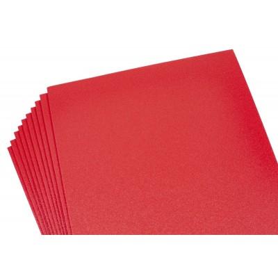Фоамиран 2мм красный перламутровый, 10 листов 20х30, 8988 арт.:8988