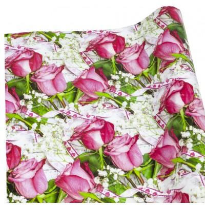 Мелованная бумага - розы, Unison,   PVM10-120 арт.:PVM10-120