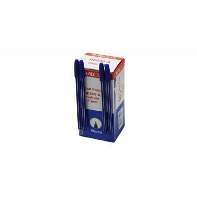 Ручка синяя 555