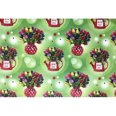 Мелованная бумага - с любовью , 1000х700, PVM10-60 арт.:PVM10-60