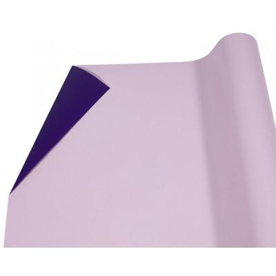 Пленка матовая  двусторонняя розово-коричневый+баклажанP2TD-16 арт.:P2TD-16