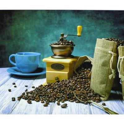Картина по номерам 'Старинная кофемолк' 40*50см,крас.-акрил,кисть-3шт. арт.:3335_B