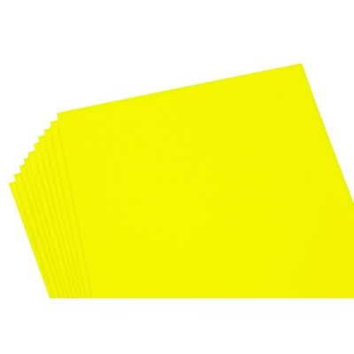 Фоамиран 2мм желтый перламутровый, 10 листов 20х30, 8986 арт.:8986