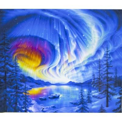Картина по номерам 40х50,  'Северное сияние' арт.:3272RA_O