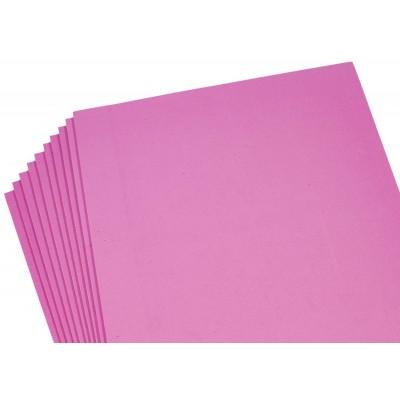 Фоамиран 2мм  ярко -розовый - 10листов, 10519 арт.:10519