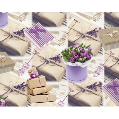 Мелованная бумага - подарки, Unison,   PVM10-22 арт.:PVM10-22