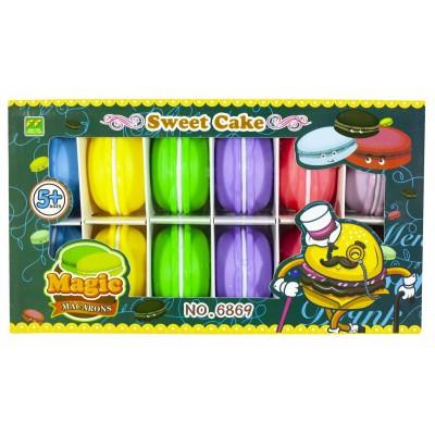 Игрушка -слайм с фимо-добавками 'Макаронс-Фрукты' 37г арт.:6869