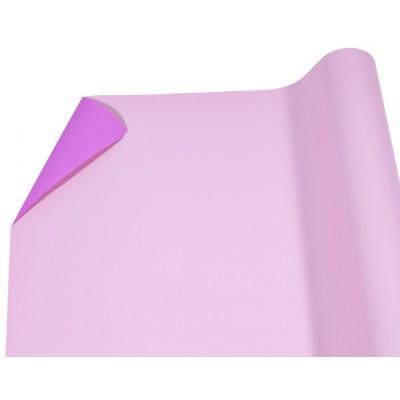 Пленка матовая  двусторонняя джеральдин+ярко- розовый P2TD-09 арт.:P2TD-09