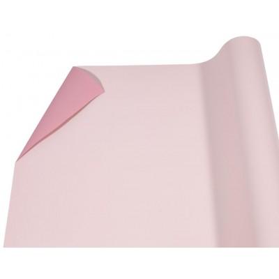 Пленка матовая  двусторонняя темный лосось + индийский розов  P2TD-06 арт.:P2TD-06