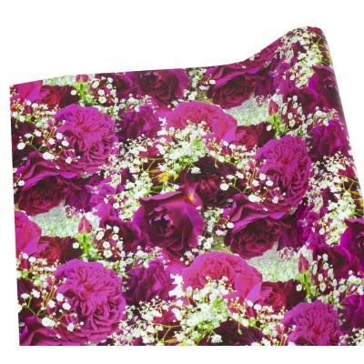 Мелованная бумага -английские розы, Unison,   PVM10-121 арт.:PVM10-121
