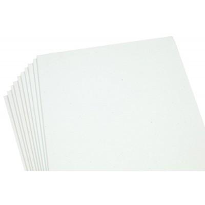 Фоамиран 2мм  велюр  белый - 10листов, 10530 арт.:10530