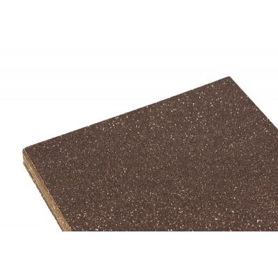 Фоамиран 2мм шоколадный с глитером -10листов, 7947 арт.:7947