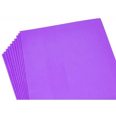 Фоамиран 2мм светло фиолетовый - 10листов, 10525 арт.:10525