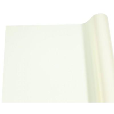 Пленка 0,7х7,0м перламутровая LUX  для цветов кремовая, 70мк арт.:1.001-7