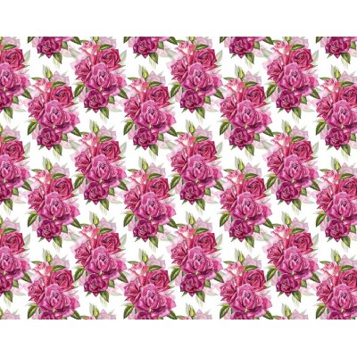 Мелованная бумага - розы , Unison, PVM10-12 арт.:PVM10-12