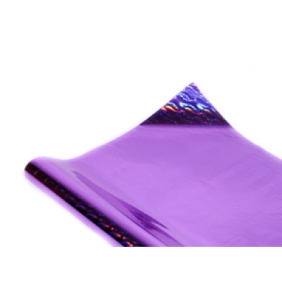Полисилк голограммный фиолетовый, Unison, HZ011-6 арт.:Пт 404.6